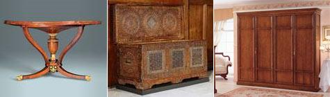 Mobili antichi dal medioevo al 800 for Mobili antichi 1800