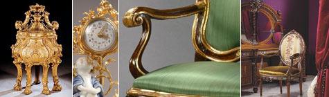Gli stili artistici dei mobili antichi for Mobili neoclassici