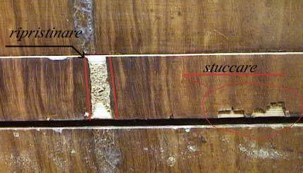 Guida al restauro fasi del restauro dettagliate mobile d 39 antiquariato - Restauro mobili impiallacciati ...